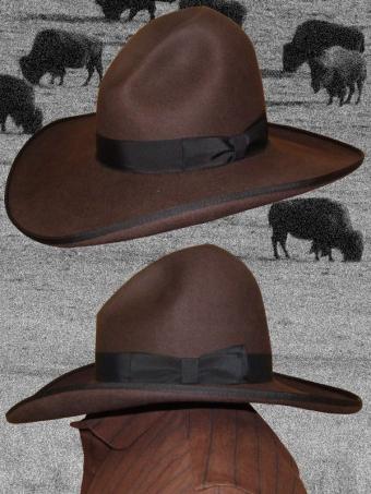 50X Cowboyhut T.H.