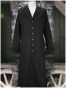 Ladies DUSTER schwarz