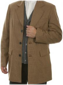 Town Coat WM brn